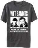 Home Alone- Wet Bandits Wanted Poster Shirts