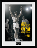 Muhammad Ali- I Am The Greatest Collector-tryk