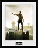 The Walking Dead- Season 3 Reproduction encadrée à collectionner
