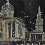 Midnight, St Martins in the Field Giclee Print by Susan Brown