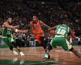 Oklahoma City Thunder v Boston Celtics Photo by Brian Babineau