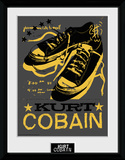 Kurt Cobain- Unlaced Shoes Reproduction Collector