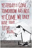 Let Us Begin Wall Plakát