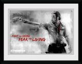 The Walking Dead- Rick Print Objet de collection encadré