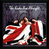 The Who - The Kids Are Alright Framed Album Art Collector-tryk