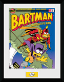 The Simpsons- Bartman Meets Radioactiveman Collector Print