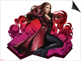 Captain America: Civil War - Scarlet Witch Poster