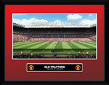 Manchester United- Old Trafford Stadium Collector Print
