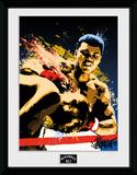 Muhammad Ali- Action Art Lámina de coleccionista