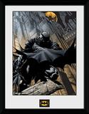 Batman- Rooftop Guardian Lámina de coleccionista