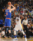 New York Knicks v Golden State Warriors Foto af Noah Graham