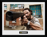 The Walking Dead- Rick Gun Collector Print