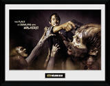 The Walking Dead- Glenn Attack Collector Print