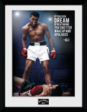 Muhammad Ali- Dream Collector-tryk