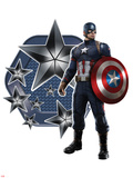 Captain America: Civil War Metal Print