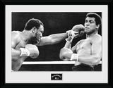 Muhammad Ali- Block Objeto de coleccionista enmarcado
