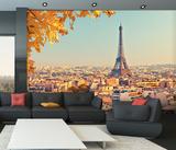 Paris Skyline Wall mural Papier peint