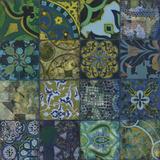 Cobalt Mosaic I Reproduction procédé giclée par  Douglas