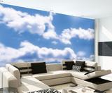 Clouds Wall Mural Vægplakat i tapetform