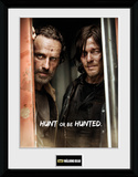The Walking Dead- Rick And Daryl Collector Print