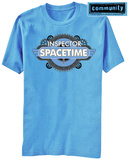 Community- Inspector Spacetime (Front/Back) Shirt