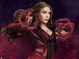 Captain America: Civil War - Scarlet Witch Metal Print