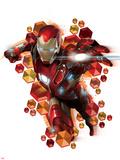 Captain America: Civil War - Iron Man Kunst på metall