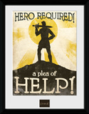 Fable- Hero Required Stampa del collezionista