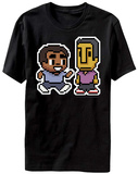 Community- 8-Bit Troy And Abed T-Shirt