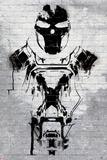 Captain America: Civil War - Cross Bones Plastic Sign