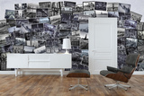 Creative Collage New York Cities Wallpaper Mural