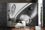 VW Black & White Camper Wall Mural - Duvar Resimleri