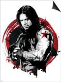 Captain America: Civil War - Winter Soldier (Bucky Barnes) Prints