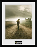 The Walking Dead- Season 2 Reproduction encadrée à collectionner