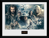 The Hobbit- Battle Of Five Armies Collage Wydruk kolekcjonerski