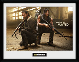The Walking Dead- Rick And Daryl Hunt Framed Memorabilia