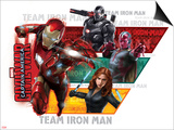 Captain America: Civil War - Team Stark, Team Iron Man Prints