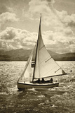 A Great Sail Giclee Print by Pete Kelly