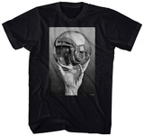 M.C. Escher- Self-Portrait In Spherical Mirror T-Shirt