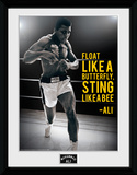 Muhammad Ali- Sting Like A Bee Collector Print
