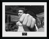 Muhammad Ali- Fist Objeto de coleccionista enmarcado