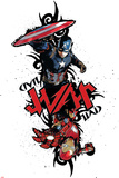 Captain America: Civil War - Captain America Vs Iron Man. Choose a Side Plastic Sign
