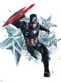 Captain America: Civil War Metal Print