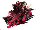 Captain America: Civil War - Scarlet Witch Plastic Sign