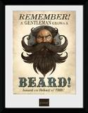 Fable- Gentlemen's Beard Stampa del collezionista