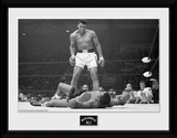 Muhammad Ali- Liston Down Wydruk kolekcjonerski