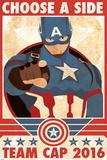 Captain America: Civil War - Team Captain America Plastic Sign