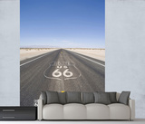 Route 66 Highway Wall Mural Wallpaper Mural