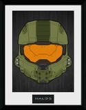 Halo 5- Master Chief Helmet Stampa del collezionista