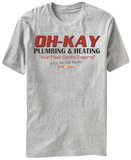 Home Alone- Oh Kay Plumbing & Heating T-shirts